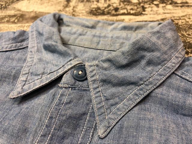 Chambray Shirt at U.S.Navy&Wrok!!(マグネッツ大阪アメ村店)_c0078587_23191778.jpg