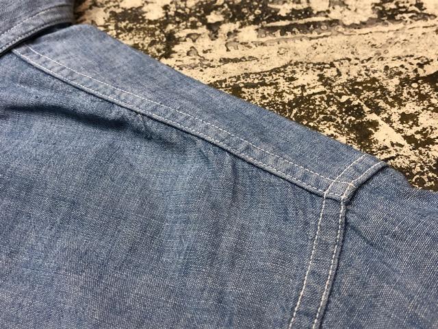 Chambray Shirt at U.S.Navy&Wrok!!(マグネッツ大阪アメ村店)_c0078587_2319385.jpg