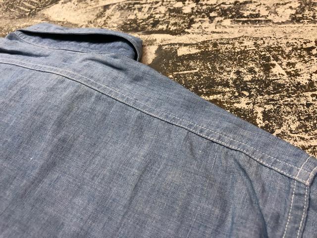 Chambray Shirt at U.S.Navy&Wrok!!(マグネッツ大阪アメ村店)_c0078587_2320082.jpg