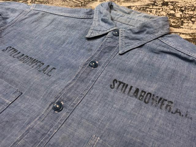Chambray Shirt at U.S.Navy&Wrok!!(マグネッツ大阪アメ村店)_c0078587_23201314.jpg