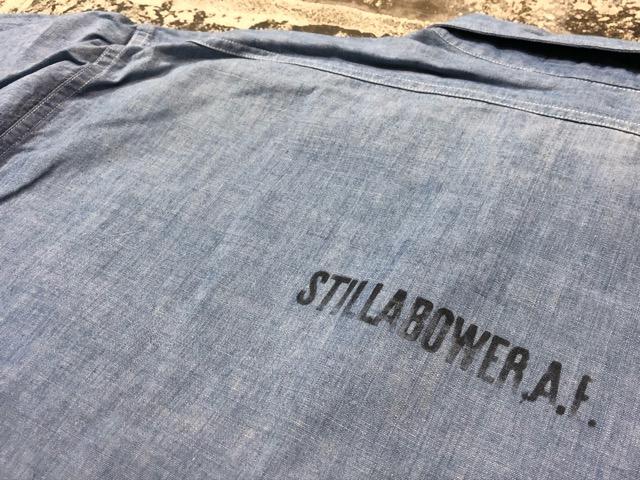 Chambray Shirt at U.S.Navy&Wrok!!(マグネッツ大阪アメ村店)_c0078587_23202798.jpg
