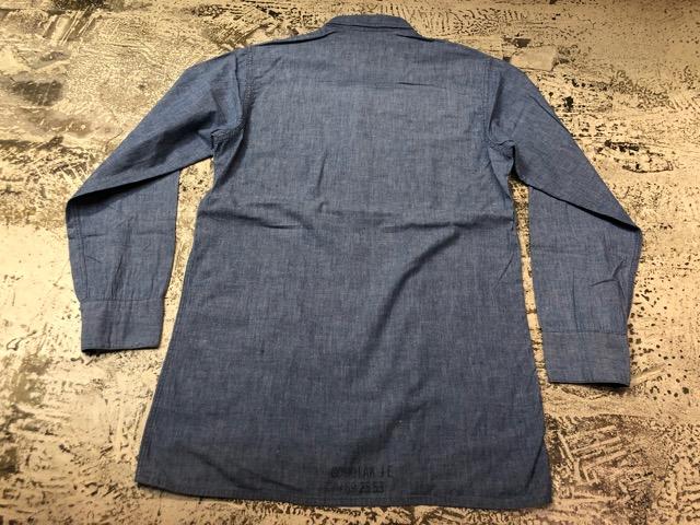 Chambray Shirt at U.S.Navy&Wrok!!(マグネッツ大阪アメ村店)_c0078587_23211213.jpg