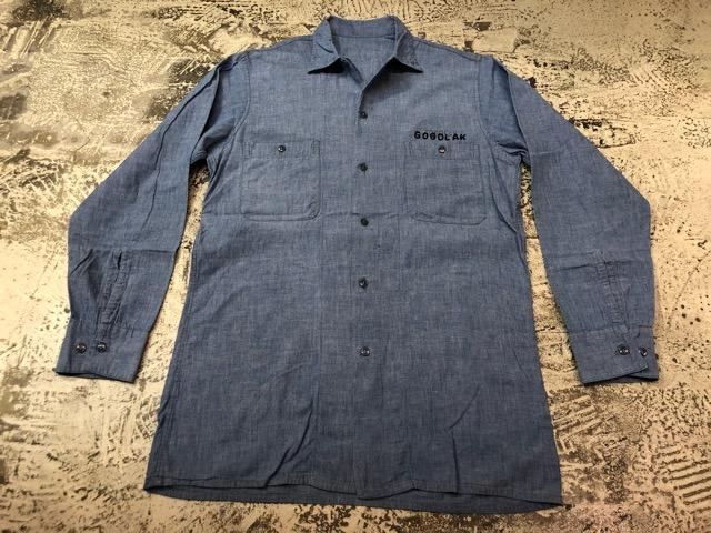 Chambray Shirt at U.S.Navy&Wrok!!(マグネッツ大阪アメ村店)_c0078587_2321254.jpg