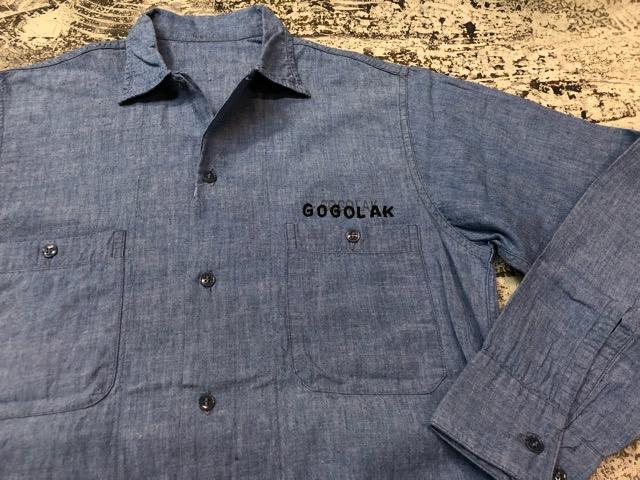 Chambray Shirt at U.S.Navy&Wrok!!(マグネッツ大阪アメ村店)_c0078587_23215229.jpg