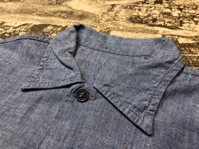 Chambray Shirt at U.S.Navy&Wrok!!(マグネッツ大阪アメ村店)_c0078587_23223016.jpg