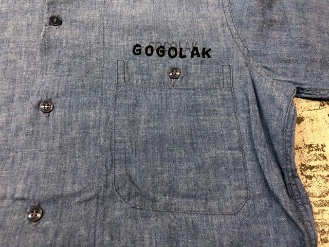 Chambray Shirt at U.S.Navy&Wrok!!(マグネッツ大阪アメ村店)_c0078587_23224840.jpg