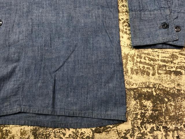 Chambray Shirt at U.S.Navy&Wrok!!(マグネッツ大阪アメ村店)_c0078587_23232055.jpg