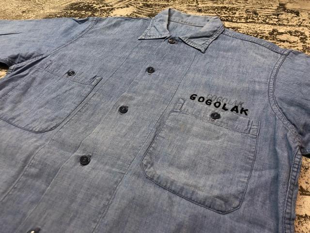 Chambray Shirt at U.S.Navy&Wrok!!(マグネッツ大阪アメ村店)_c0078587_23242526.jpg