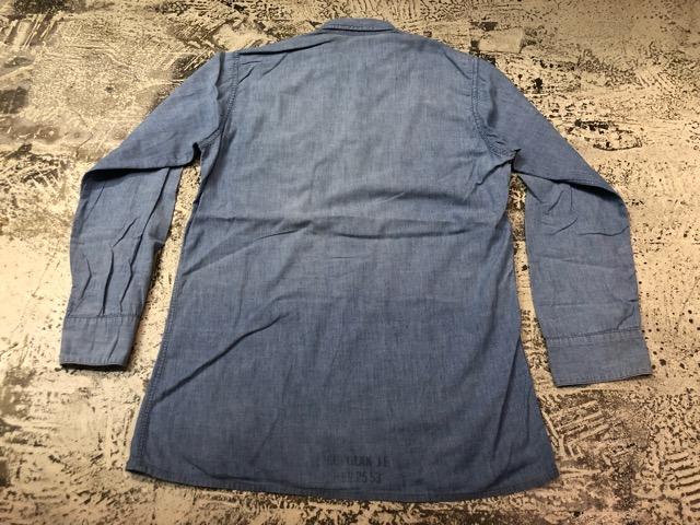 Chambray Shirt at U.S.Navy&Wrok!!(マグネッツ大阪アメ村店)_c0078587_2324689.jpg