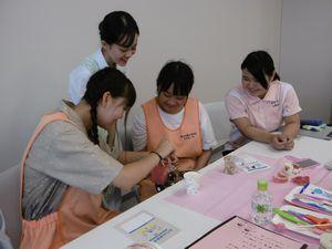 山形歯科専門学校と東北文教大学との交流事業を行いました!_e0196791_10510913.jpg