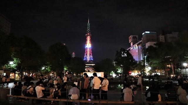藤田八束の「世界は仲良く出来ないのか」@札幌の夜を楽しむ韓国からのお客様、政治は誰のために有るのか_d0181492_22234010.jpg