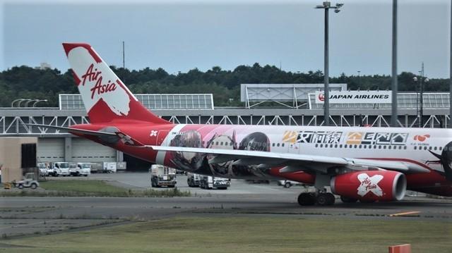 藤田八束の鉄道写真@札幌空港で離発着する飛行機、札幌空港からの貨物列車の写真、楽しい飛行機たちが勢ぞろいした札幌空港_d0181492_22445164.jpg