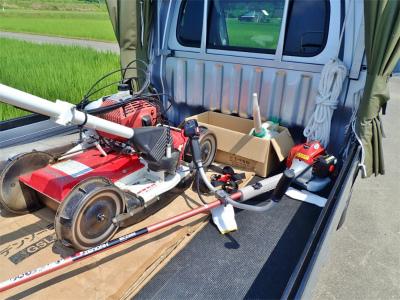 日曜の兼業農家は4回目の草刈り作業でした_c0336902_20362504.jpg
