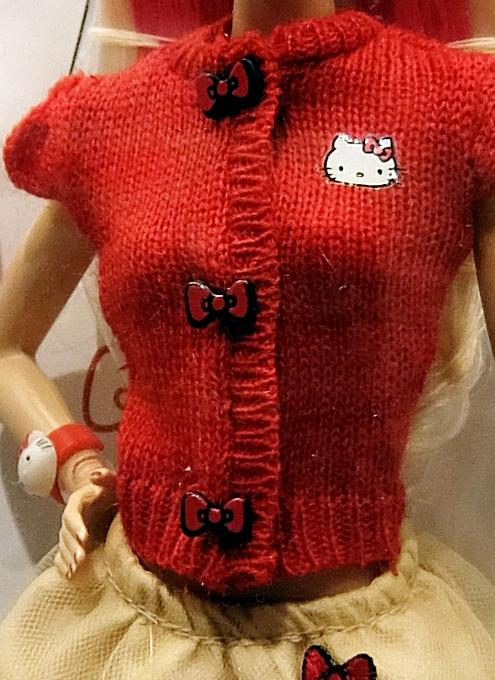 """キティちゃんファッションのバービー人形 \""""Barbie Hello Kitty Doll\""""_b0007805_10532726.jpg"""