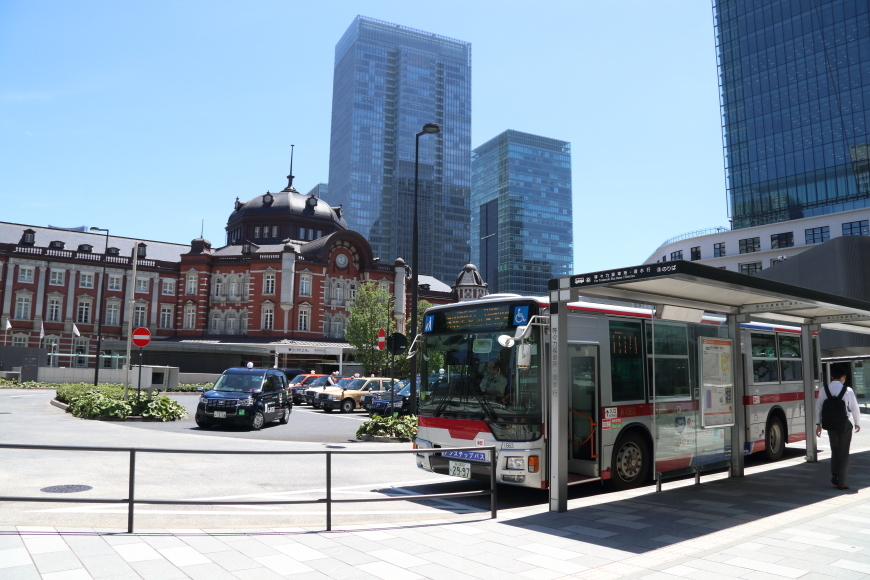 猛暑の東京駅周辺 - 2019年猛暑・ドクターイエロー -_b0190710_18185006.jpg