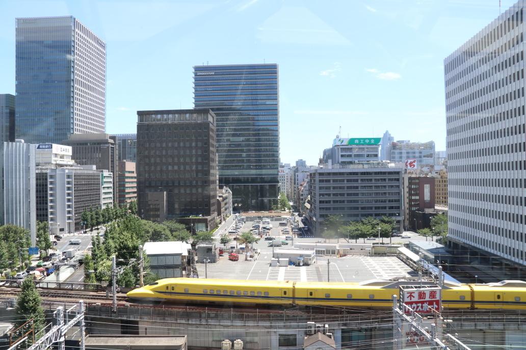 猛暑の東京駅周辺 - 2019年猛暑・ドクターイエロー -_b0190710_18185095.jpg