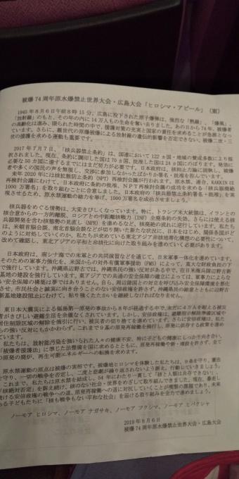 被爆74周年原水禁世界大会まとめ集会_e0094315_10354548.jpg