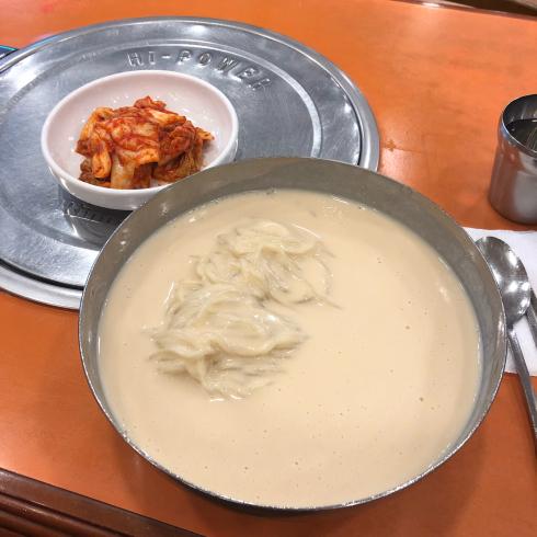 19年7月ソウル その6☆夏の韓国食、コングクスで締め!_d0285416_09073734.jpg