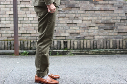 """「WORKERS」考え抜かれた \""""Officer Trousers, Type 2\"""" ご紹介_f0191324_07425236.jpg"""
