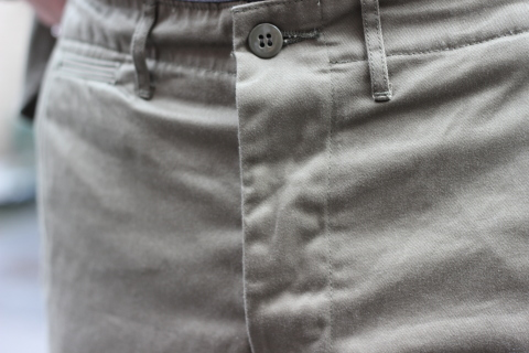 """「WORKERS」考え抜かれた \""""Officer Trousers, Type 2\"""" ご紹介_f0191324_07431673.jpg"""