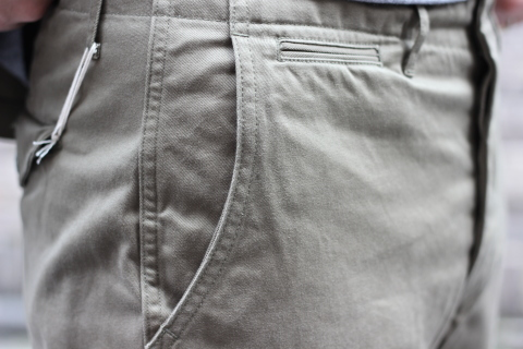 """「WORKERS」考え抜かれた \""""Officer Trousers, Type 2\"""" ご紹介_f0191324_07433461.jpg"""