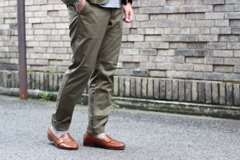 """「WORKERS」考え抜かれた \""""Officer Trousers, Type 2\"""" ご紹介_f0191324_07435254.jpg"""