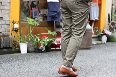 """「WORKERS」考え抜かれた \""""Officer Trousers, Type 2\"""" ご紹介_f0191324_07440386.jpg"""