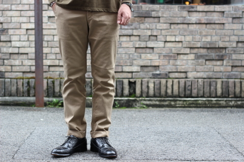 "「WORKERS」考え抜かれた ""Officer Trousers, Type 2\"" ご紹介_f0191324_07444999.jpg"