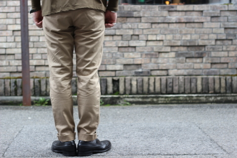 """「WORKERS」考え抜かれた \""""Officer Trousers, Type 2\"""" ご紹介_f0191324_07451199.jpg"""