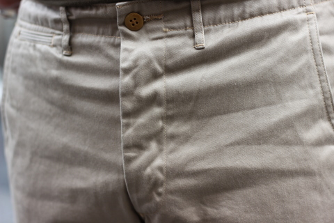 """「WORKERS」考え抜かれた \""""Officer Trousers, Type 2\"""" ご紹介_f0191324_07452036.jpg"""