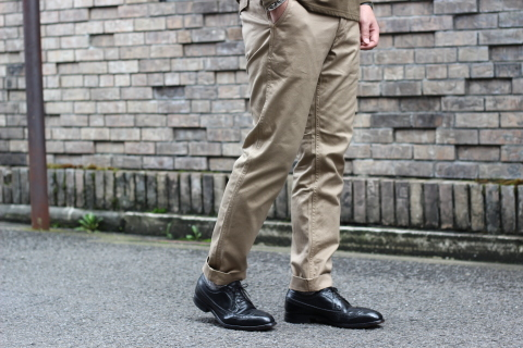 """「WORKERS」考え抜かれた \""""Officer Trousers, Type 2\"""" ご紹介_f0191324_07454668.jpg"""