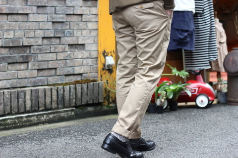 """「WORKERS」考え抜かれた \""""Officer Trousers, Type 2\"""" ご紹介_f0191324_07455400.jpg"""