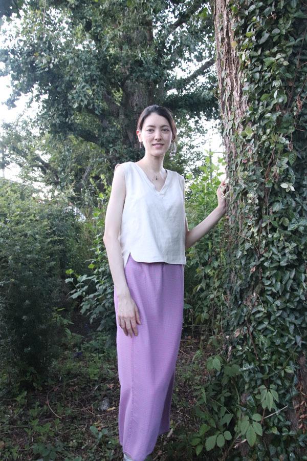 ペイズリー柄 巻きスカート Customer's snaps(1202)_e0104046_04202372.jpg