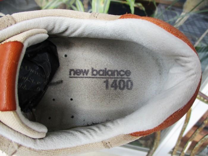 Used NB1400 Made in USA new balance 1400 US Made アメリカ製 ニューバランス + 明日、水曜日は店休日 !!_e0187362_12521372.jpg