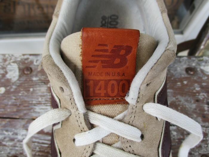 Used NB1400 Made in USA new balance 1400 US Made アメリカ製 ニューバランス + 明日、水曜日は店休日 !!_e0187362_12524076.jpg