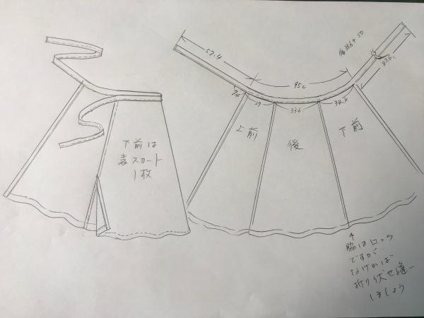 フレアラップスカートのパターン_e0397389_13582375.jpeg