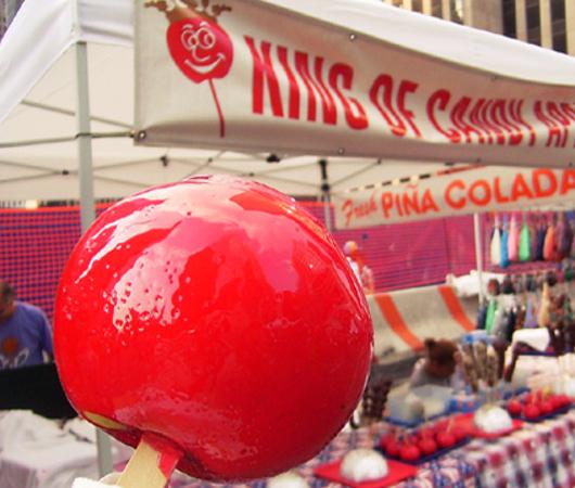 夏のNYのストリート・フェアは「夏祭り」って感じたっぷり_b0007805_10382337.jpg