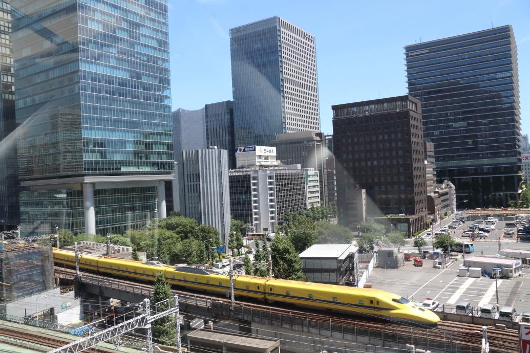 東京は暑い… - 2019年猛暑・ドクターイエロー -_b0190710_17292413.jpg