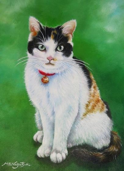 猫の肖像画 ご依頼品_b0089338_21170242.jpg