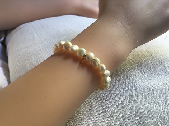 Tous淡水パールブレスレット54   sold out!_f0112550_00171031.jpg