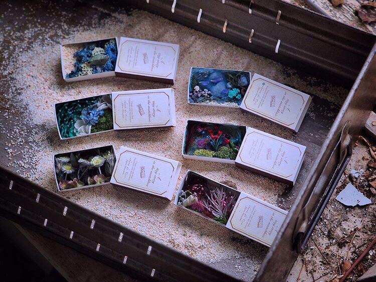 【箱の中のユートピア〜小さな世界に広がる大きな物語〜】出展者のご紹介 ohana de ticoさん。 _e0060555_18100853.jpg