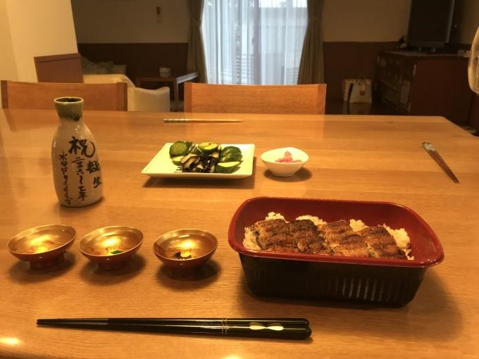 日本の夏、うな丼に始まりうな重で〆_b0100062_16473250.jpeg