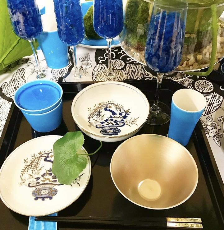 涼を呼ぶ日本庭園の食卓(岩田屋アリタポーセリンラボ)_c0366777_10452192.jpeg