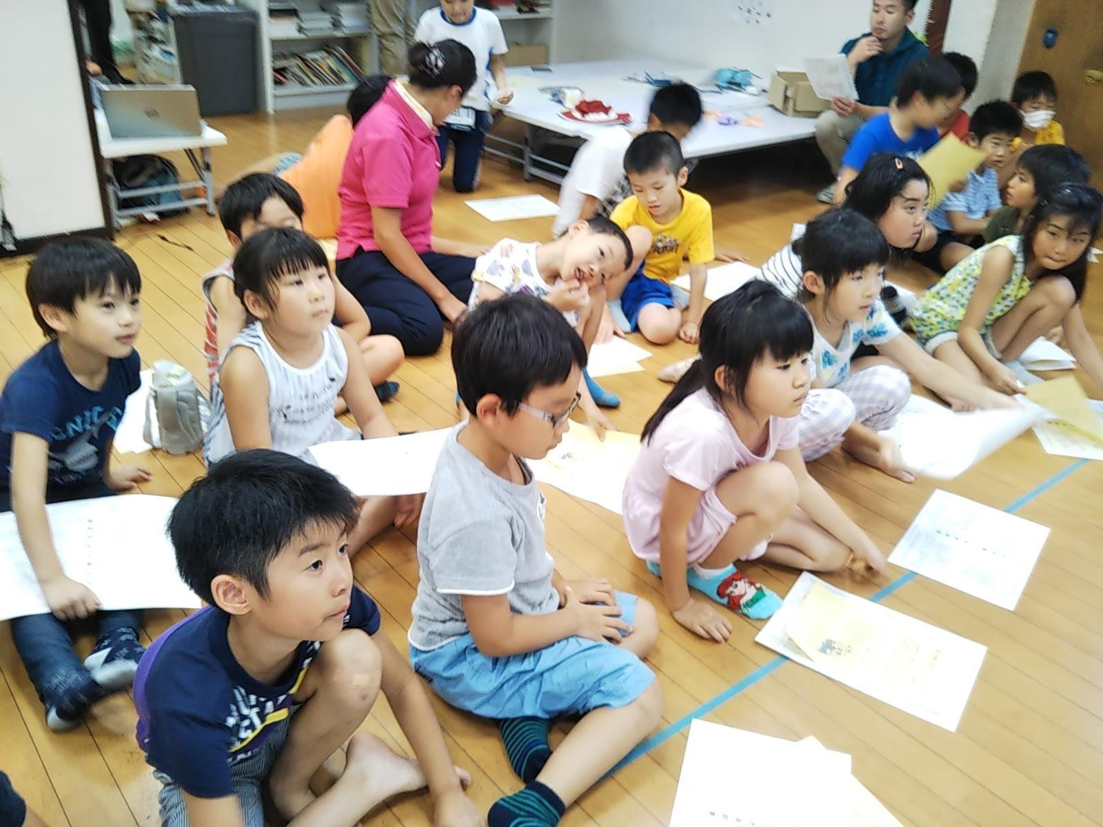 【レクリエーション】8月6日 『セーフテイー教室』_f0225094_16240918.jpg