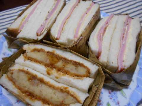 ハムチーズサンドイッチ&孫たち_f0019498_06470737.jpg