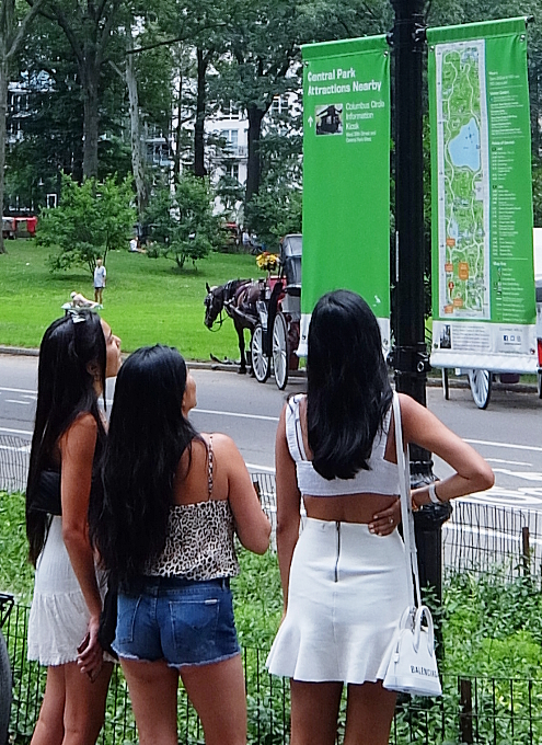 セントラルパークのお散歩風景_b0007805_04522121.jpg