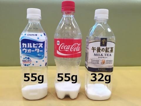 の コーラ 量 砂糖
