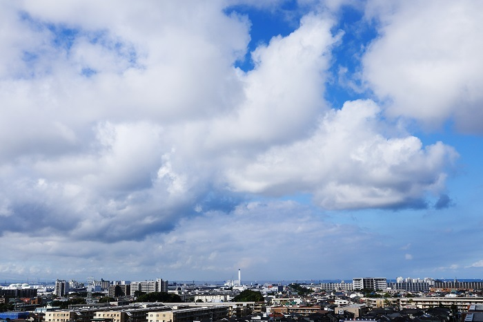 並雲(積雲)_b0268615_16594424.jpg