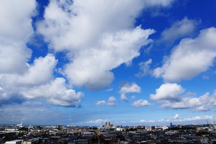 並雲(積雲)_b0268615_17003017.jpg