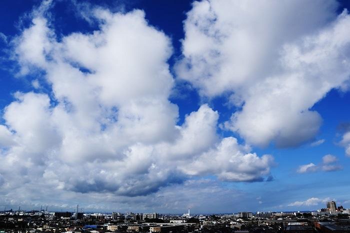 並雲(積雲)_b0268615_17010740.jpg